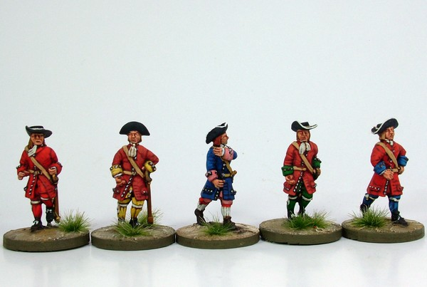 WLOA06 Pikeman advancing