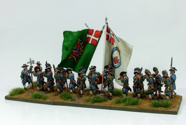 B002 Firing line no pikes grenadiers in low mitre