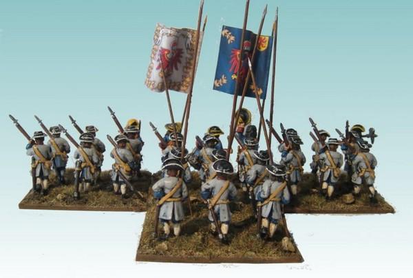 B015 Advancing pikes and no grenadiers
