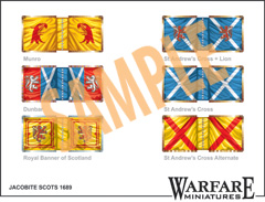 FJC105 Scots Jacobite Cavalry Standards