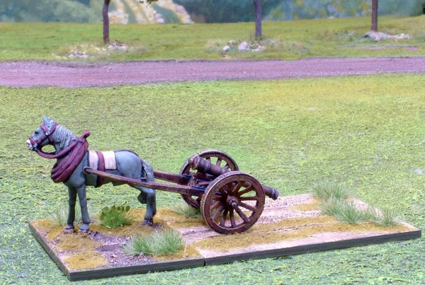 WLOA906 Galloper gun with horse
