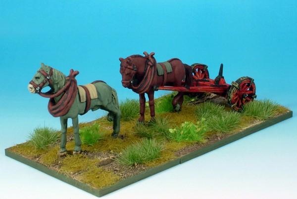 WLOA907 Two horse limber