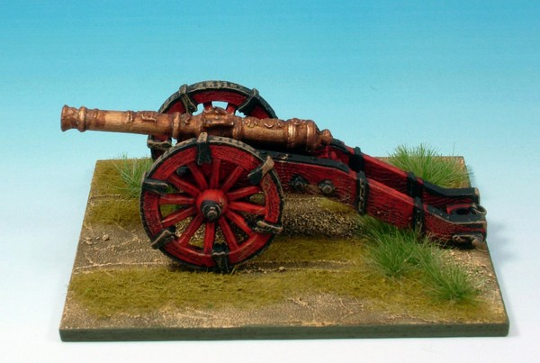 WLOA902a Field gun French scrollwork barrel (without crew)