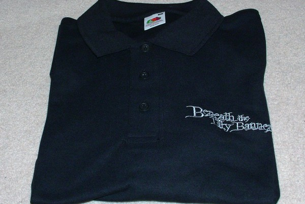 BLB005 Beneath the Lily Banners Polo Shirt (MEDIUM)