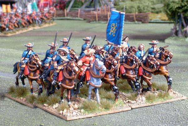 R001 Dutch Gard te Paard or Gardes du Corps unit deal