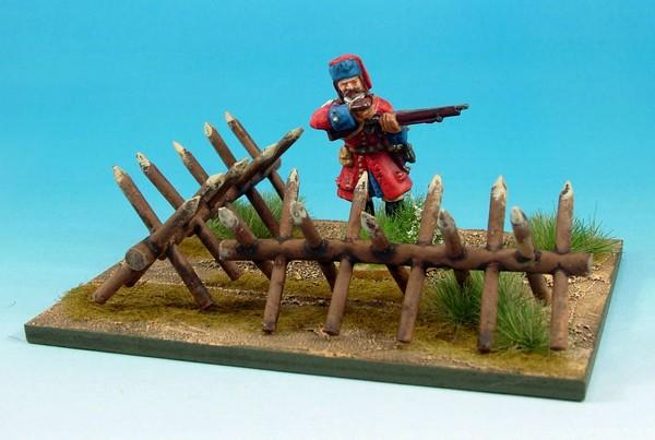 Wloa922 siege equipment chevaux de frise league of augsburg - Chevaux de frise ...