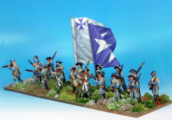 B012 Advancing no pikes and grenadiers in low mitres