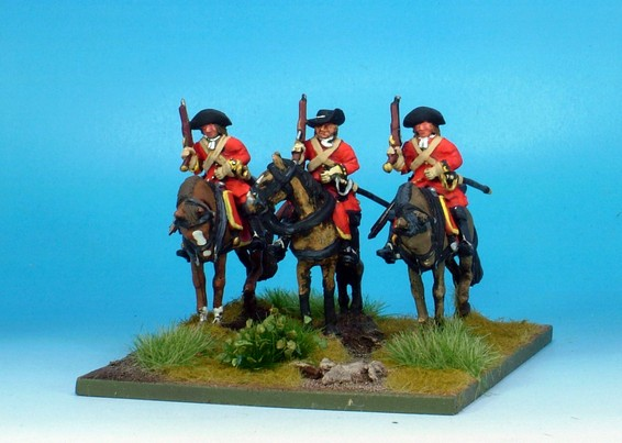 WLOA30 Cavalry Troopers on standing horses
