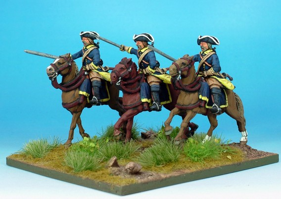 SW001 Swedish Cavalry Troopers