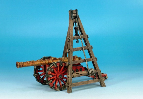 WLOA925 Siege equipment A frame gun gin