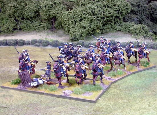 SCR2  GNW Swedish Horse Regiment Charging