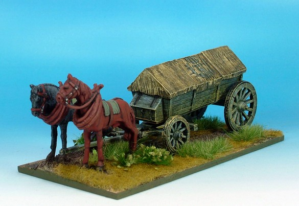 WLOA943 Covered wagon ridged roof variant #1