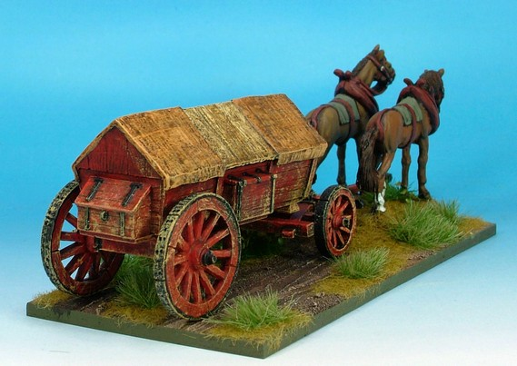 WLOA944 Covered wagon ridged roof variant #2
