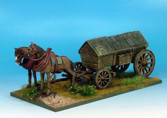 WLOA945 Covered wagon ridged roof variant #3