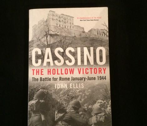 WW2 Cassino the Hollow victory John Ellis PAPERBACK