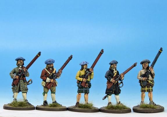 H002 Militia or volunteers in mixed dress