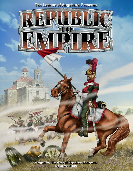 REPUBLIC TO EMPIRE NAPOLEONIC WARGAMES RULES (Bundle deal)