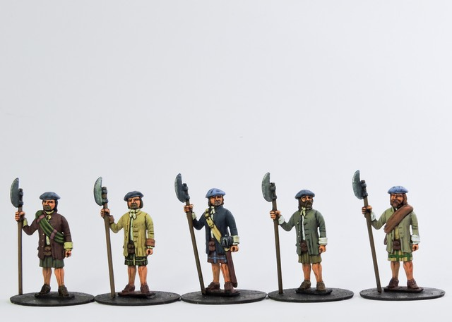 H005 Highland Clansmen Ready open handed