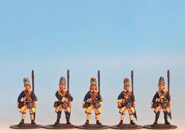 S22 Swedish Grenadiers at the ready