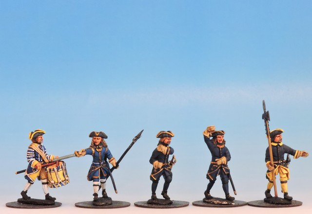 S11 Marching Command in tricorne