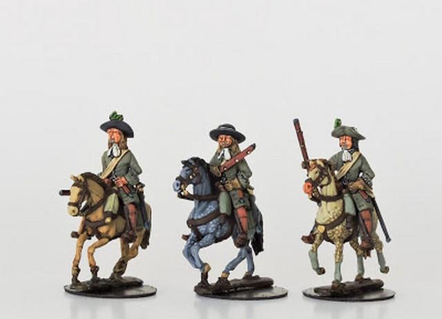 WLOA58 Mounted dragoons in hats