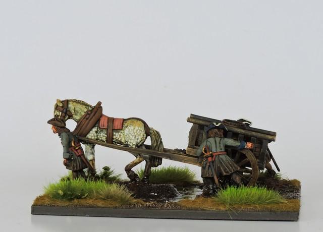 SA04 Swedish cart and load
