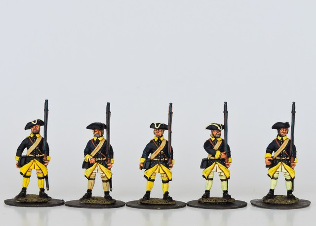 S01 Swedish Musketeers in tricorne standing