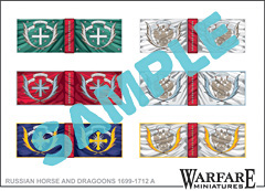 Russian Dragoon flags 1
