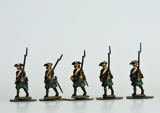R12 GNW Russian Musketeers marching