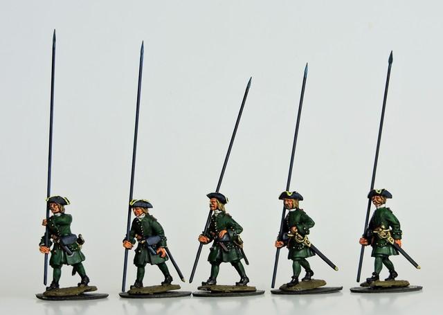 R13 GNW Russian pikemen marching