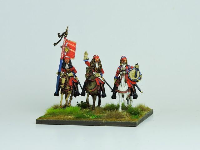 WLOA63 Mounted French dragoons Command