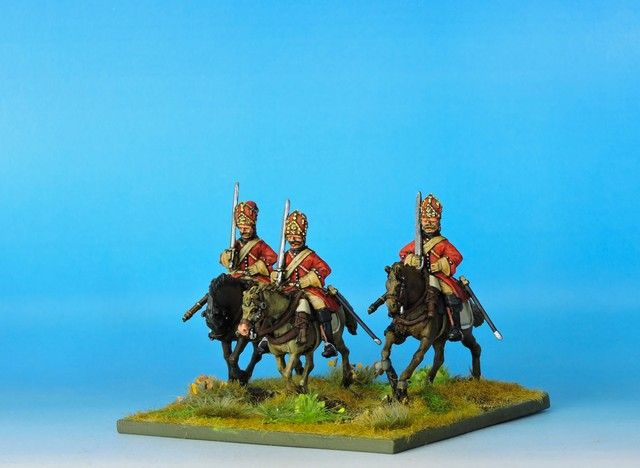 RC03 Russian Horse Grenadiers double front mitre