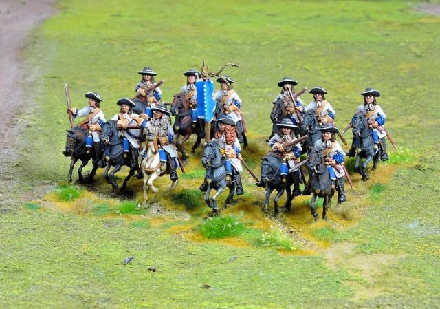 R003 Dragoon regiment in hats