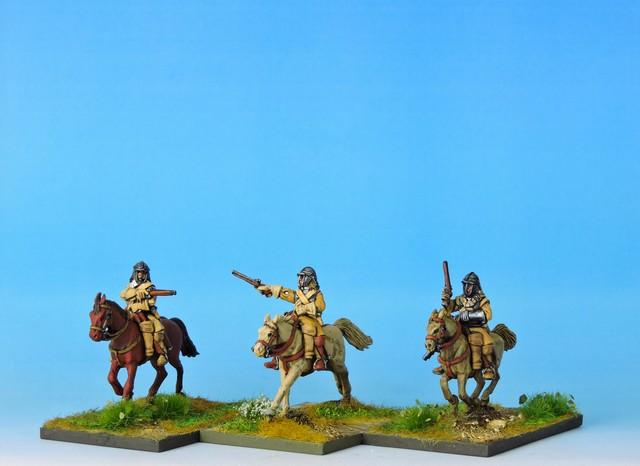 ECWC2 Troopers in helmets with pistols
