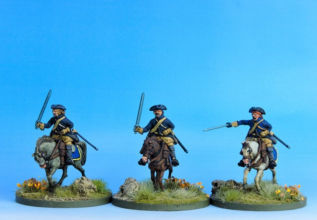 SC01 Swedish Cavalry Troopers charging variant #1