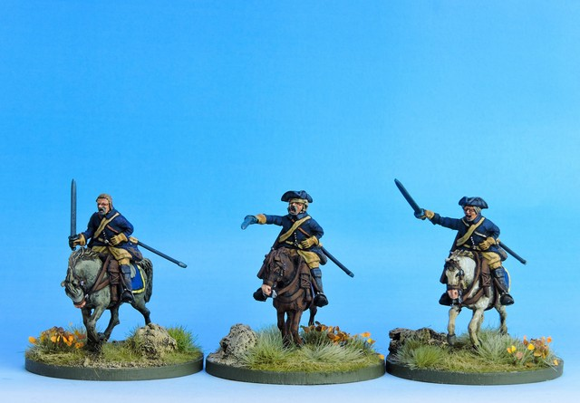 SC02 Swedish Cavalry Troopers charging variant #2