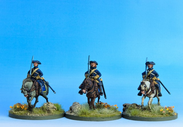 SC03 Swedish Cavalry Troopers ready variant #1