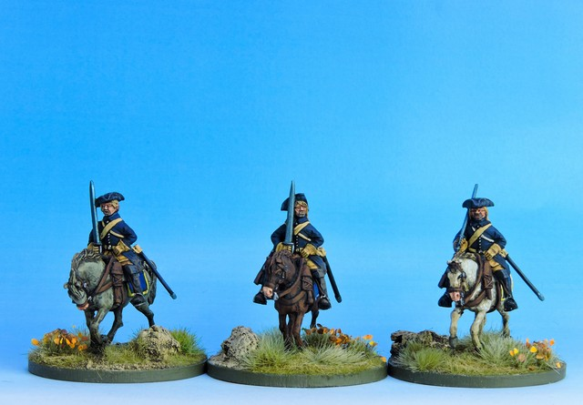 SC04 Swedish Cavalry Troopers ready variant #2