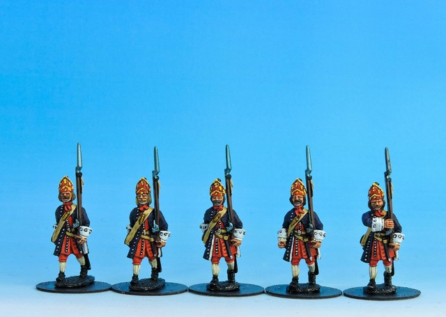 P02 WSS/GNW Prussian Grenadiers marching