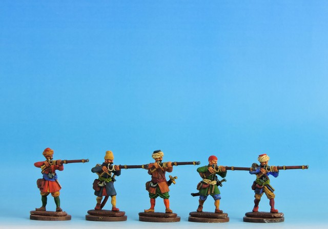 OT003 Janissaries - campaign dress firing