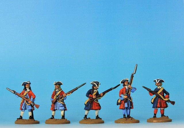 P05 WSS/GNW Prussian musketeers loading and priming