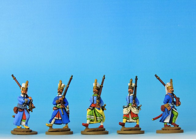 OT001 Janissaries - full dress advancing
