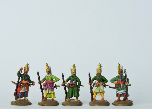 OT002 Janissaries - full dress standing ready
