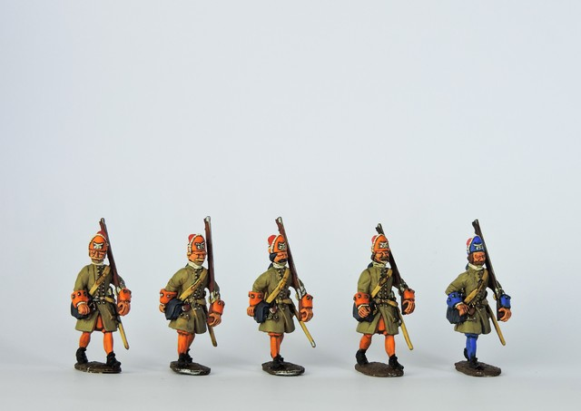 D02 WSS/GNW Danish grenadiers marching
