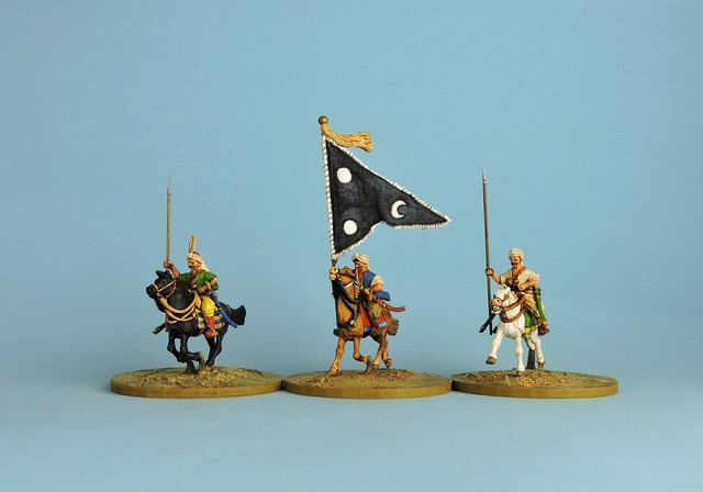 OTC04 Ottoman Sipahis with open hands for lances