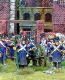6pdr Foot Artillery Company - French