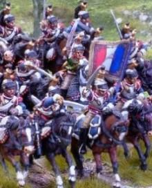 4e Cuirassier - French