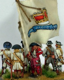 Colour Jacobite Regiment 1690