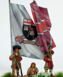 St Johns Regiment colours