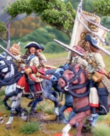 Warfare Miniatures Horse - Galmoys Regiment
